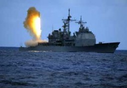"""""""The better U.S. Option for missile defense: The Aegis ships with launchers would """"steam to the threat"""""""