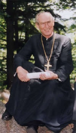 """Archbishop Alfons Nossol from Opole in Silesia (Poland), the Heart of Europe: """"Let's combat ideology and nationalism with a """"…"""