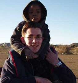 German student Philipp Brix from Schloss Salem- a member of the World Security Junior Network- worked in South Africa :…
