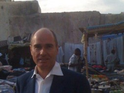 "Dr. Hubertus Hoffmann in the Old City of Tripoli in Libya: ""An active structuring of North African policy is decisive,…"