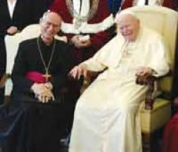 In February 2004 the Pope welcomed  his friend Archbishop Alfons Nossol and a delegation from the University of Opole (Poland)…