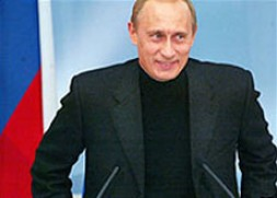 A clear signal for democracy in Russia is needed by President Putin.