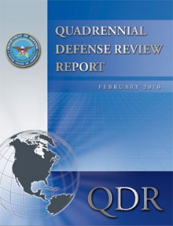 """""""The Quadrennial Defense Review (QDR) of the U.S. Department of Defense is a must-read for anyone interested in U.S. Defence…"""