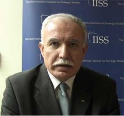 """Riad Malki, Foreign Minister Palestinian National Authority: """"UN should impose the """"two-states-solution"""" based upon resolution 181."""""""