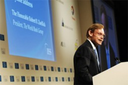 """Robert Zoellick, President of the World Bank Group: """"One of the strategic challenges for the World Bank Group is modernising…"""