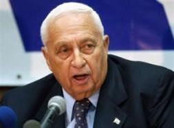 Israeli Prime Minister Ariel Sharon.