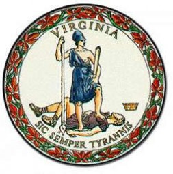 "The seal of the state of Virgina carries the inscription: "" Thus always to tyrants."""
